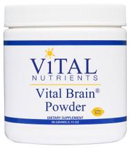 Vital Nutrients Vital Brain Powder Lemon - 3.15 oz