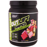 Nutrex Research, Outlift Amped, Pre-Workout Powerhouse, Cosmic Burst, 15 oz (426 g)