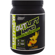 Nutrex Research, Outlift Amped, Pre-Workout Powerhouse, Peach Pineapple , 15.7 oz (446 g)