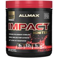 ALLMAX Nutrition, IMPACT Igniter, Pre-Workout, Citrulline Malate + Beta-Alanine + NAC, Fruit Punch, 11.6 oz (328 g)