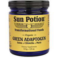 Sun Potion, Organic Green Adaptogen, Chlorella Maca Suma Blend, 3.9 oz (111 g)