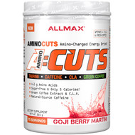 ALLMAX Nutrition, AMINOCUTS (ACUTS), Weight-Loss BCAA (CLA + Taurine + Green Coffee), Goji Berry Martini, 525 g