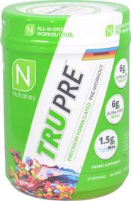 NutraKey TRU Pre Precision Formulated Pre-Workout Rainbow -- 20 Servings