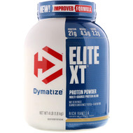 Dymatize Elite XT Protein Powder Multi-Source Protein Blend Rich Vanilla -- 4 lbs