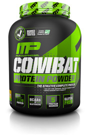 Muscle Pharm Combat Protein Powder Banana Cream - 4 lbs