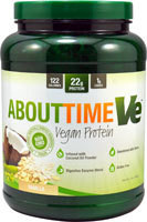 About Time Ve Vegan Protein  Vanilla - 2 lbs