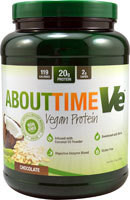 About Time Ve Vegan Protein  Chocolate - 2 lbs