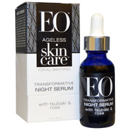 EO Products, Ageless Skin Care, Transformative Night Serum, 1 fl oz (30 ml)