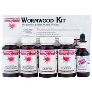 Kroeger Herb Co, Wormwood Kit, 5 Piece Kit