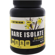Eat the Bear, Bare Isolate, Whey Pure Protein Isolate, Vanilla, 2 lbs (908 g)