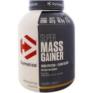 Dymatize Nutrition, Super Mass Gainer, Gourmet Vanilla, 6 lbs (2.7
