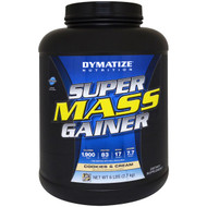 Dymatize Nutrition, Super Mass Gainer, Cookies & Cream, 6 lbs (2.7