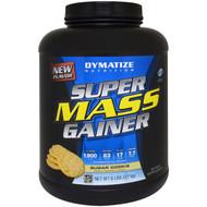 Dymatize Nutrition, Super Mass Gainer, Sugar Cookie, 6 lbs (2.7