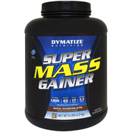 Dymatize Nutrition, Super Mass Gainer, Rich Chocolate, 6 lbs (2.7
