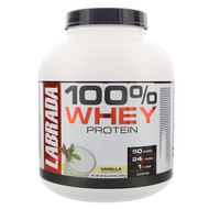 Labrada Nutrition, 100% Whey Protein, Vanilla, 4.13 lbs (1875 g)