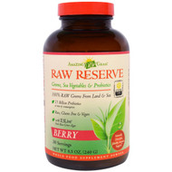 Amazing Grass Raw Reserve Green SuperFood Powder Berry -- 30 Servings
