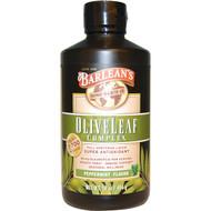 Barleans, Olive Leaf Complex, Peppermint Flavor, 16 oz (454 g)