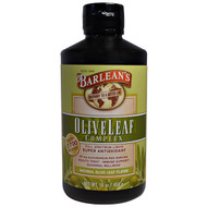 Barleans, Olive Leaf Complex, Natural Olive Leaf Flavor, 16 oz (454 g)