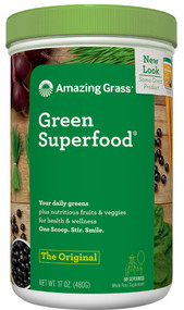 Amazing Grass Green SuperFood Drink Powder Original - 17 oz