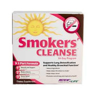 Renew Life, Smokers' Cleanse, 30 Day Program, 3 Bottles