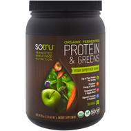 SoTru, Organic Fermented, Protein  & Greens, 20 oz (567 g)