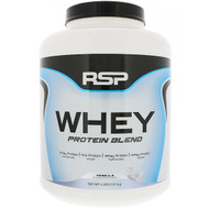 RSP Nutrition, Whey Protein Blend, Vanilla, 4 lbs (1.81