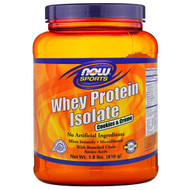 Now Foods, Whey Protein Isolate, Cookies & Creme, 1.8 lbs (816 g)