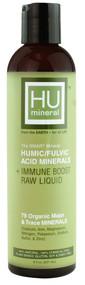HU Mineral Humic-Fulvic Acid Minerals plus Immune Boost Raw Liquid - 8 fl oz
