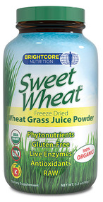Brightcore Nutrition Sweet Wheat Grass Juice Powder - 3.2 oz