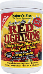 Natures Plus Source of Life Red Lightning Antioxidant Energy Drink - 0.5 lb