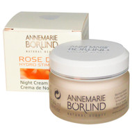 AnneMarie Borlind, Hydro Stimulant Night Cream, Rose Dew, 1.69 fl oz (50 ml)