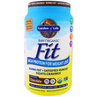 Garden of Life, Raw Organic Fit, High Protein For Weight Loss, Chocolate, 32.5 oz (922 g)