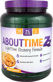 About Time Zz Nighttime Recovery Formula Peanut Butter - 2 lbs