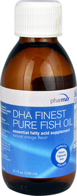 Pharmax DHA Finest Pure Fish Oil  Orange - 5.1 fl oz