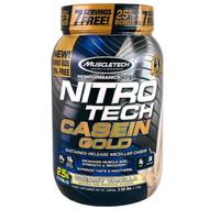 Muscletech, Nitro Tech Casein Gold, Creamy Vanilla, 2.50 lbs (1.13