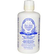 Herbal Answers, Pure Aloe Force, Liquified Aloe Vera Leaf, 32 fl oz (946 ml)