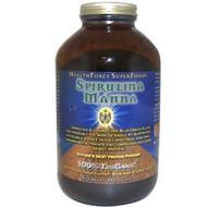 HealthForce Superfoods, Spirulina Manna, Natures Best Protein Powder, 16 oz, 1 lb (453.5 g)
