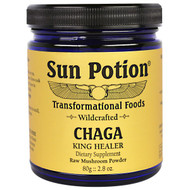 Sun Potion, Chaga Wild Mushroom Powder, Wildcrafted, 2.8 oz (80 g)