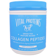 Vital Proteins, Collagen Peptides, Unflavored, 20 oz (567 g)