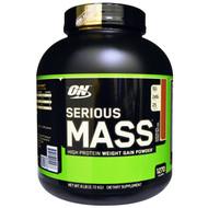 Optimum Nutrition, Serious Mass, Chocolate Peanut Butter, 6 lbs (2.72