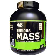 Optimum Nutrition, Serious Mass, Chocolate, 6 lbs (2.72