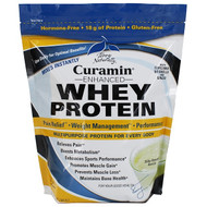 EuroPharma, Terry Naturally, Curamin Enhanced Whey Protein, Silky Smooth Vanilla, 24 oz (680 g)