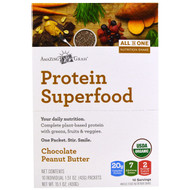 Amazing Grass Protein Superfood Chocolate Peanut Butter -- 10 Packets