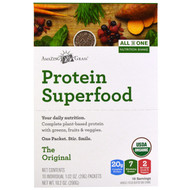 Amazing Grass, Protein Superfood, All In One Nutrition Shake, The Original, 10 Packets, 1.02 oz (29 g) Each
