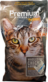 PetGuard, Super Premium Cat Food,  Chicken and Brown Rice - 17 lbs