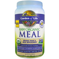 Garden of Life, RAW Organic Meal, Shake & Meal Replacement, Vanilla, 2.13 lbs (969 g)