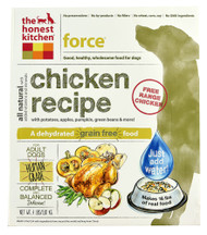 The Honest Kitchen Force Dehydrated Dog Food for Adult Dogs Chicken - 4 lbs