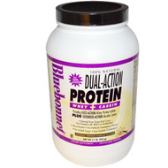 Bluebonnet Nutrition 100% Natural Dual Action Protein Natural French Vanilla - 2.1 lbs