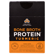 Ancient Nutrition Bone Broth Protein Turmeric -- 15 Packets
