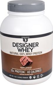 Designer Protein Protein Powder Gourmet Chocolate -- 4 lbs